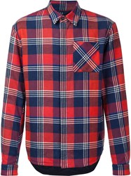 Aztech Mountain 'Loge Peak' Quilted Shirt Red