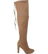 Carvela Sammy High Heel Over The Knee Boots Taupe