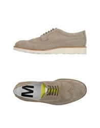 Mauro Grifoni Lace Up Shoes Beige