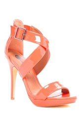 Michael Antonio Luckey Patent Heel Pump Pink