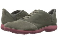 Geox Mnebula24 Military Dark Red Men's Shoes Olive