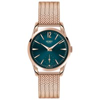 Henry London Hl30 Um 0130 Women's Stratford Bracelet Strap Watch Rose Gold Teal