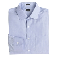J.Crew Crosby Dress Shirt In End On End Cotton Fairweather Blue