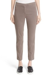 Eleventy Women's 'Uptown' Stretch Cotton Ankle Pants