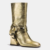 Coach Harness Boot Gold