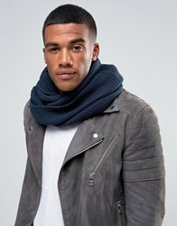 Selected Homme Snood Navy