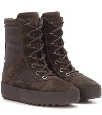 Yeezy Military Suede Boots Season 3 Brown