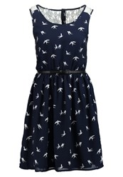 Only Onlbirdie Summer Dress Night Sky Cloud Dancer Dark Gray