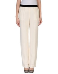 Space Style Concept Casual Pants Ivory