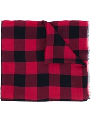 Dsquared2 'Canadian Check' Scarf