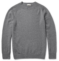 Margaret Howell Wool And Cashmere Blend Sweater Gray