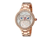 Betsey Johnson Bj00616 01 Owl Face Rose Gold Watches