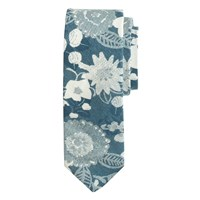 J.Crew The Hill Side Cotton Tie In Xerox Floral