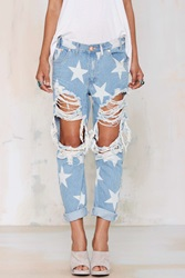 Nasty Gal Le Punk Boyfriend Jeans Saints