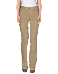Grifoni Trousers Casual Trousers Women Beige