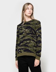 6397 Camo Zip Sweat
