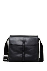 Ugg Branford Leather Slim Messenger Black