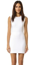 Elizabeth And James Mckay Fitted Dress White