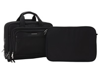Briggs And Riley Work Medium Expandable Rolling Brief Black Briefcase Bags