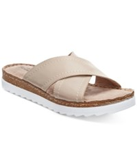 Bella Vita Fasano Slide On Sandals Women's Shoes Taupe