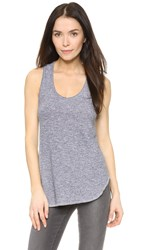 Lanston Racerback Tunic Tank Heather