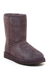 Classic Short Crystal Bow Uggpure Lined Boot Gray
