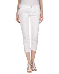 Kocca Trousers 3 4 Length Trousers Women White