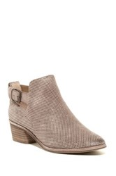 Dolce Vita Katch Perforated Ankle Bootie Brown