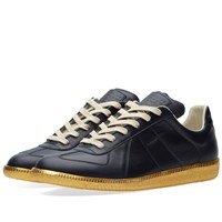 Maison Martin Margiela Maison Margiela 22 Replica Low Gold Sole Sneaker Blue