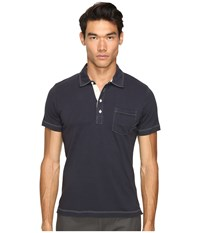 Billy Reid Pensacola Polo Navy Men's Clothing