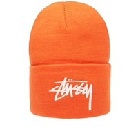 Stussy Stock Cuff Beanie Orange