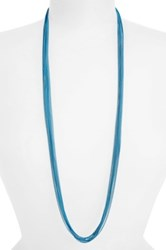 Cara Accessories Painted Chain Multistrand Necklace