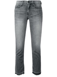 Current Elliott Cropped Jeans Grey