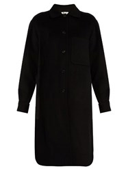 Acne Studios Berkeley Wool And Cashmere Blend Coat Black