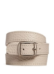 Bynd Artisan Triple Wrap Leather Bracelet Neutral