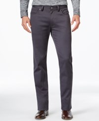 Vince Camuto Charcoal Gray Stretch Fabric Pants