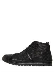 Marsell Marsell Perforated Nappa Leather Ankle Boots