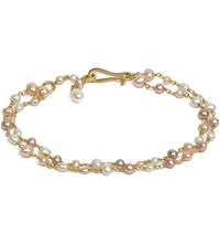Annoushka 18Ct Gold And Seed Pearl Bracelet