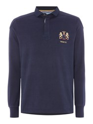 Howick Signature Long Sleeve Rugby Shirt Navy