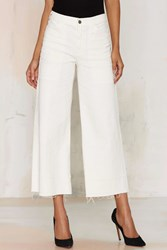 Nasty Gal Citizens Of Humanity Melanie Crop Jean White