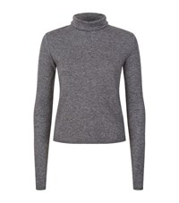 See By Chloe High Neck Dotted Jersey Female Grey