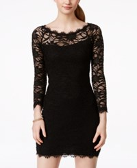 Jump Juniors' Lace Sheath Dress