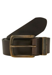 Wrangler Belt Brown Dark Brown
