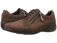 Wolky Bonnie Brown Nubuck Women's Lace Up Casual Shoes