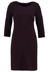 More And More Summer Dress Dark Cassis Bordeaux