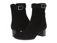 La Canadienne Jasmin Black Suede Women's Dress Boots