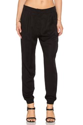 Shades Of Grey Pleated Jogger Pant Black