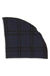 Alexander Olch Men's 'The Jack' Plaid Pocket Round