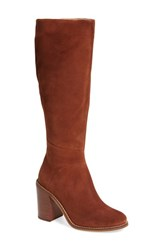 Seychelles Women's Memory Knee High Boot Cognac Suede