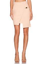 Minty Meets Munt Angular Wrap Skirt Peach